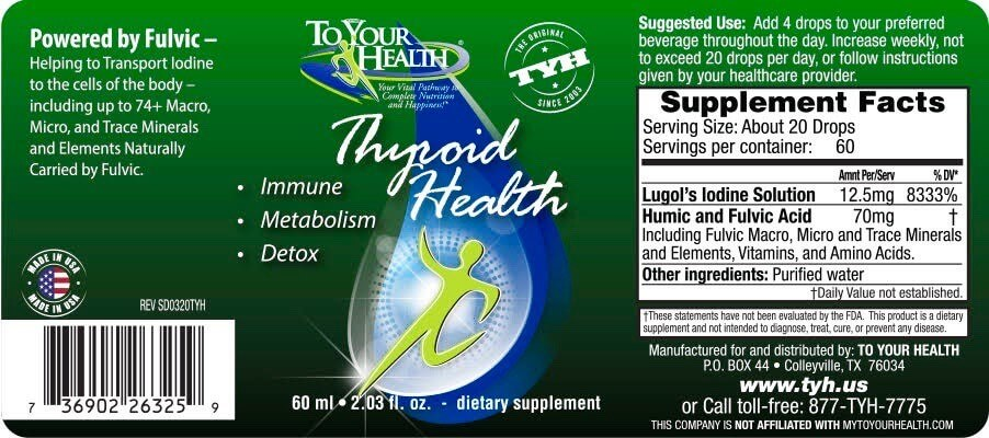Thyroid Health Ingredients